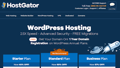 hostgator wp hosting review