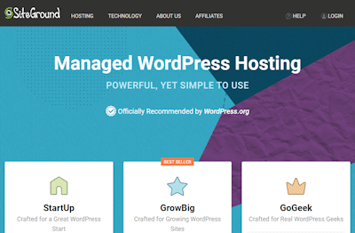 siteground wp hosting review